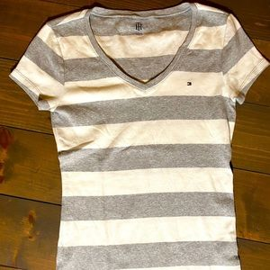 V Neck fitted top